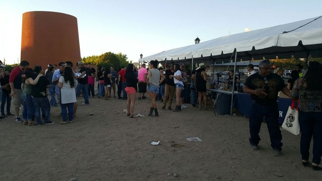 tequila taco and cerveza festival food lines 2016 albuqueruque