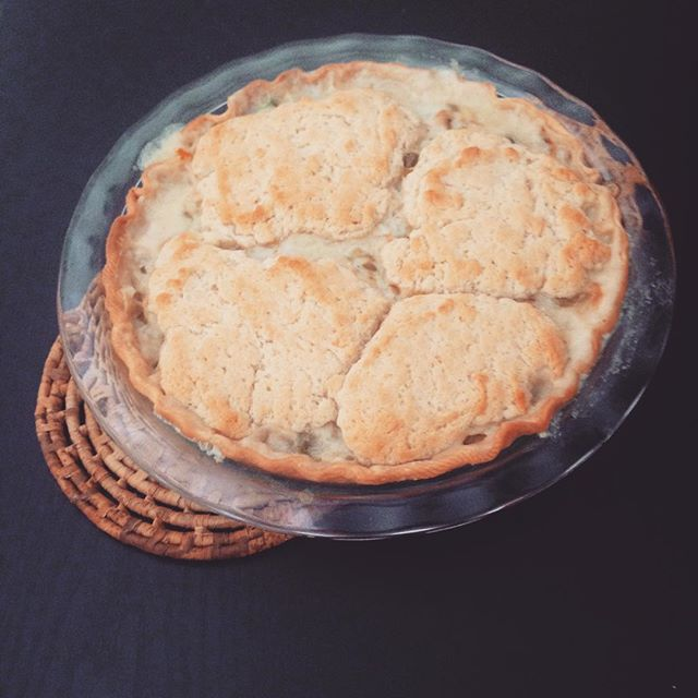 green chile pot pie photo by nama_taste