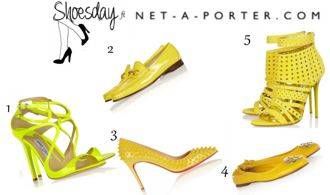yellow shoesday