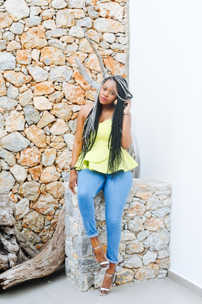 iamnrc, ngoni, ngoni chikwenengere, how to wear a bandeau top, bandeau top, asos bandeau top, styling a bandeau top