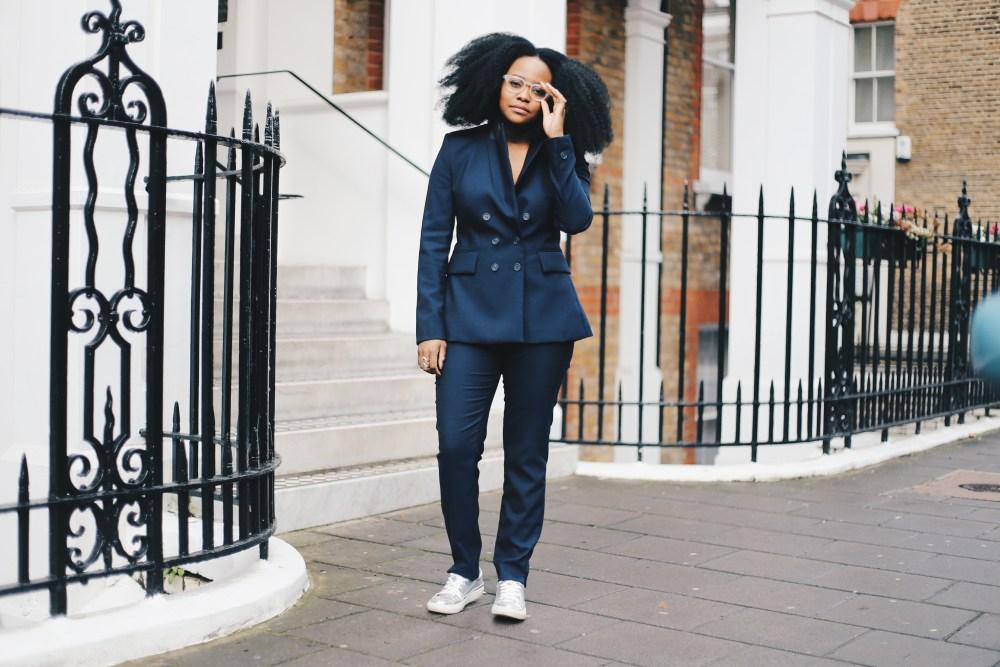 girl in suit, ngoni chikwenengere, iamnrc,nrc