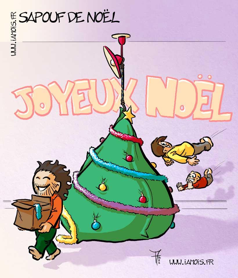 Sapouf de Noël - auteur : iamo'i's