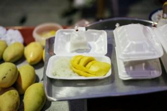 desert of choice: sticky rice & mango
