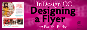 Designing a 1-Page Flyer in InDesign