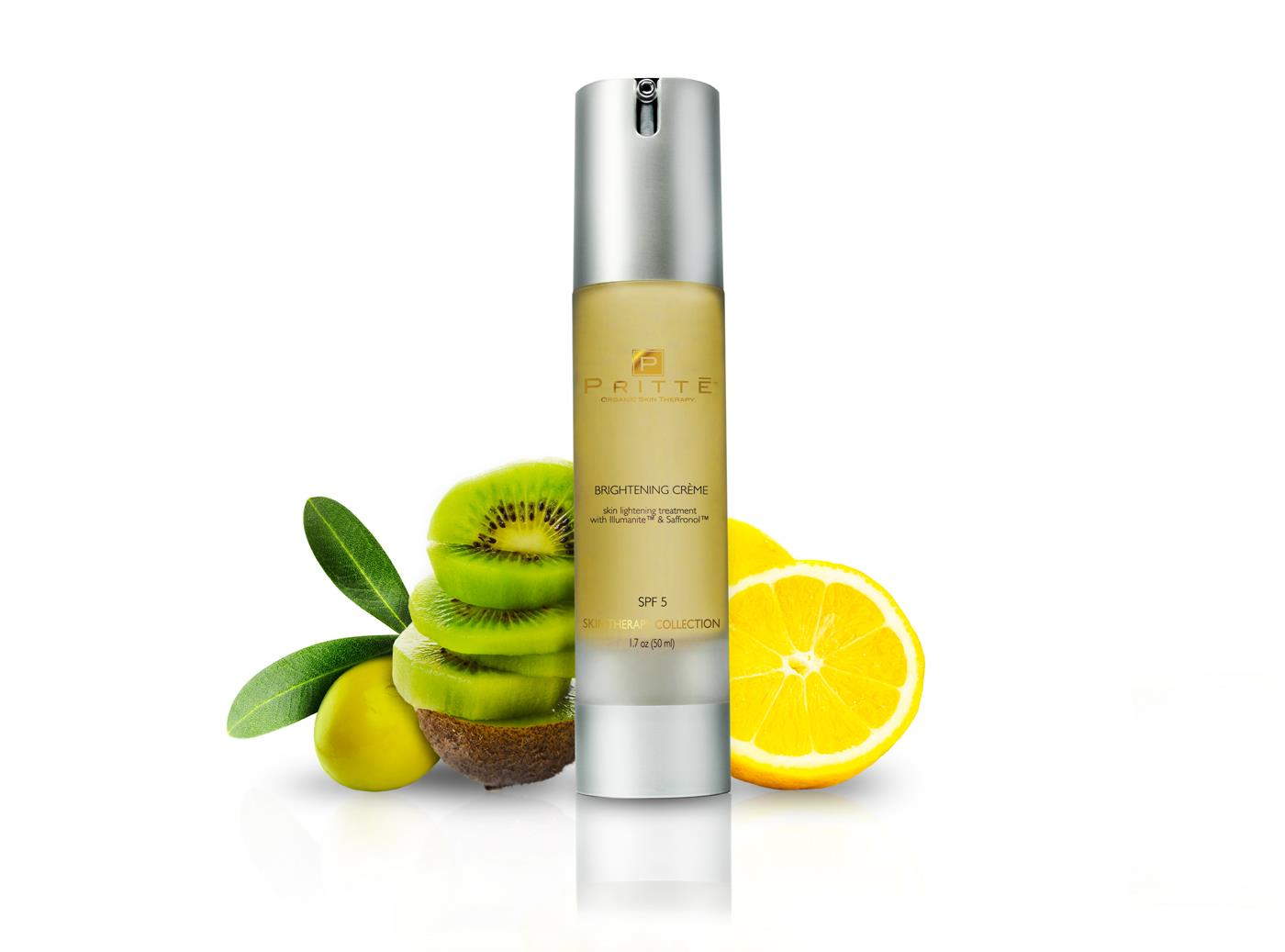 Pritte Brightening Creme bottle
