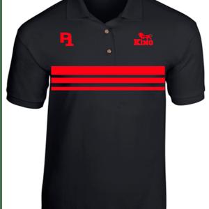 P1 I Am...King Black Polo Shirt