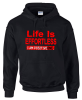 Black Life Is Effortless Hoodie