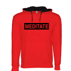 Meditate - Light Weight Hoodie