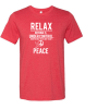 RELAX - NOTHING IS UNDER CONTROL ALL WORRYING DOES IS TAKE AWAY TODAYS PEACE