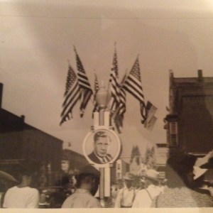 1940 Wendall Wilkie Day, Elwood, Indiana