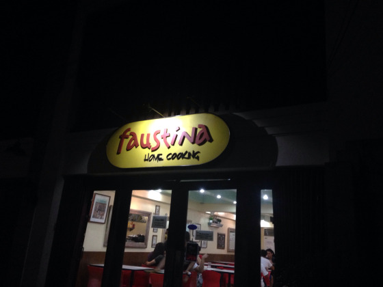 Welcome to Faustina Home Cooking @ Intramuros, Manila