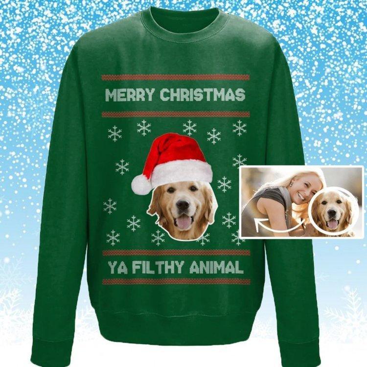 Custom Dog Christmas Jumper
