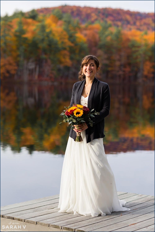 Sebago Lake Maine Wedding Photographer An Intimate Fall