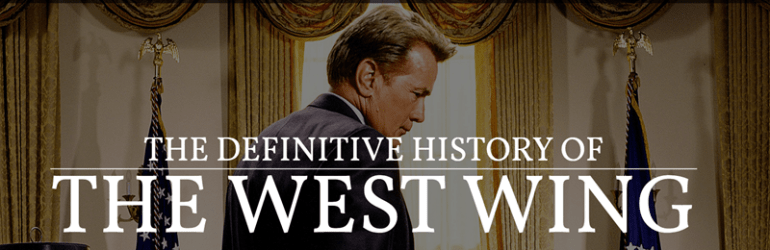 history of the west wing