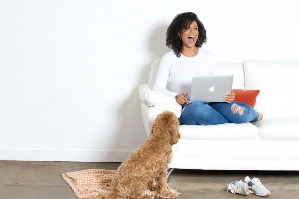 sherrelle - sofa - http://iamsherrelle.com