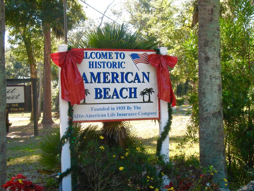 Amelia Island - American Beach