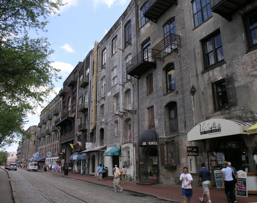 A Family Trip to Savannah - River Street