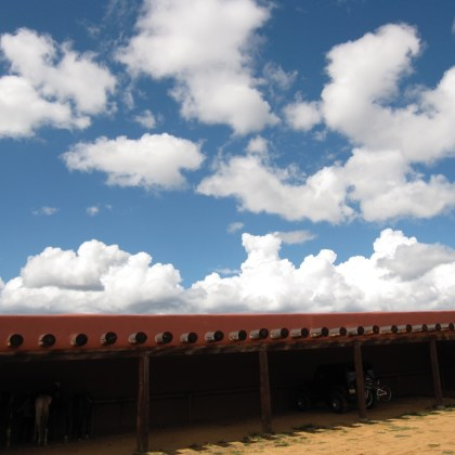 Forked Lightning Ranch - blue sky