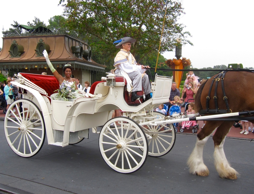 Princess Tiana - Disney World - http://iamsherrelle.com