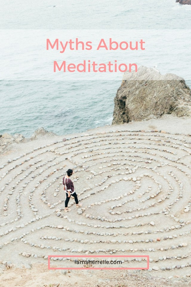 Dispelling myths about meditation and on the path to wellness. - Sherrelle