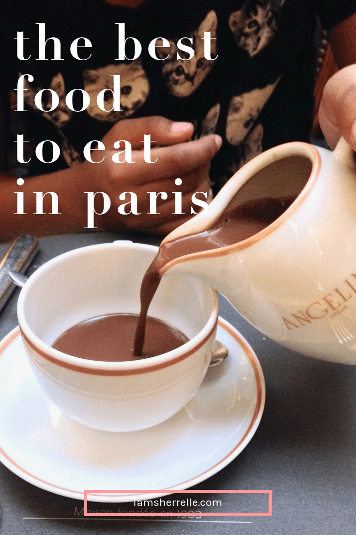 Paris has some of the best you can eat while on vacation! Be sure not to miss some of the best of Paris. #travel #food #paris