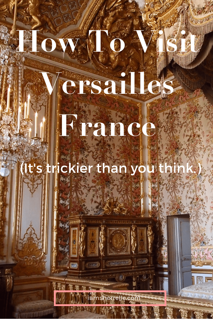 Visting Versailles, France is a must-do while in France, but it's trickier than you think!  Get all the tips and tricks. #versailles #france #paris #vacation