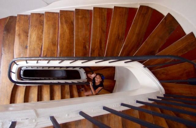 The Marais - stairs -http://iamsherrelle.com