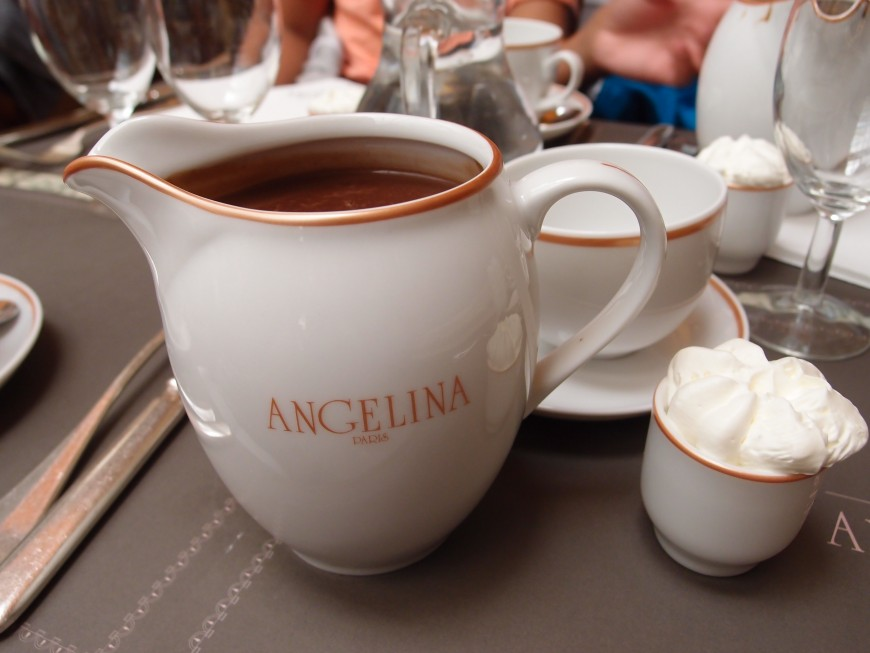 Angelina hot chocolate http://iamsherrelle.com