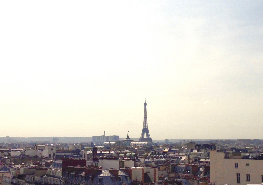 Paris Alone - Paris View - http://iamsherrelle.com