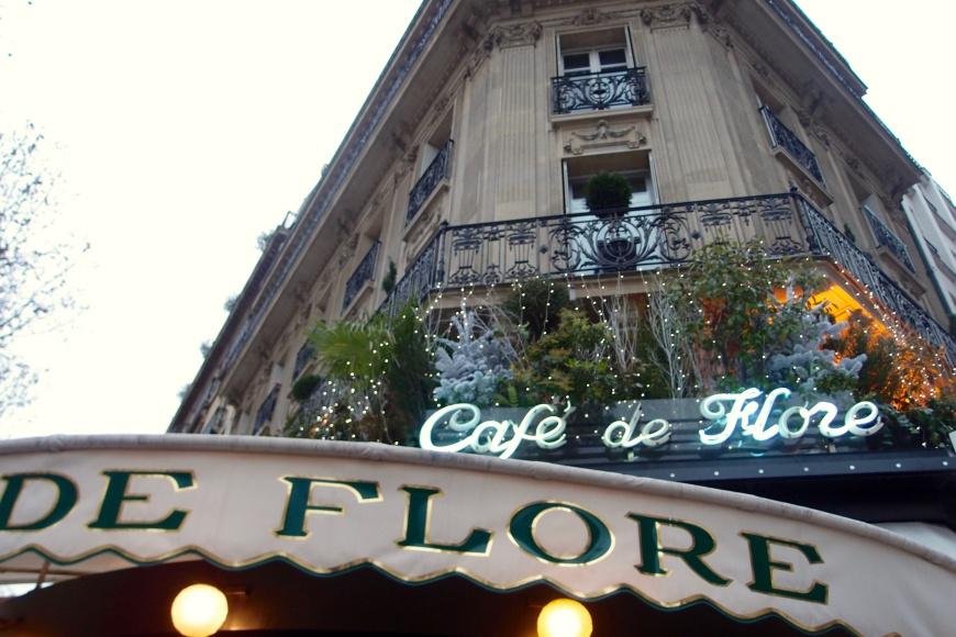Paris - Café de Flore holiday http://iamsherrelle.com