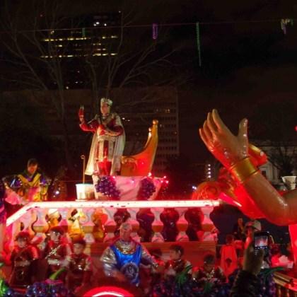 MardiGras Bacchus Parade