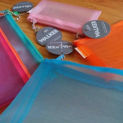Walker Color Mesh Pouches - http://iamsherrelle.com