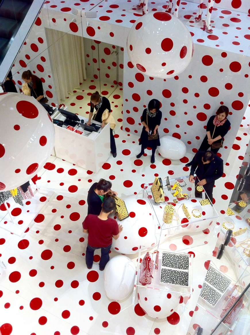 Louis Vuitton Kusama Printemps - http://iamsherrelle..com