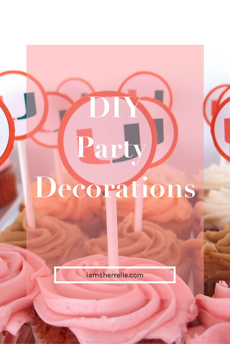 Easy and fun DIY party decorations. - Sherrelle