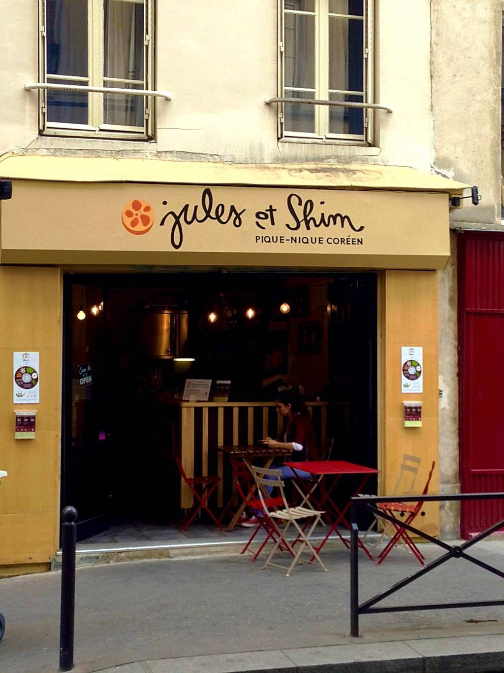 How To See Paris in 4 Days: Jules et Shim (bibimbap), Canal Saint-Martin, Paris