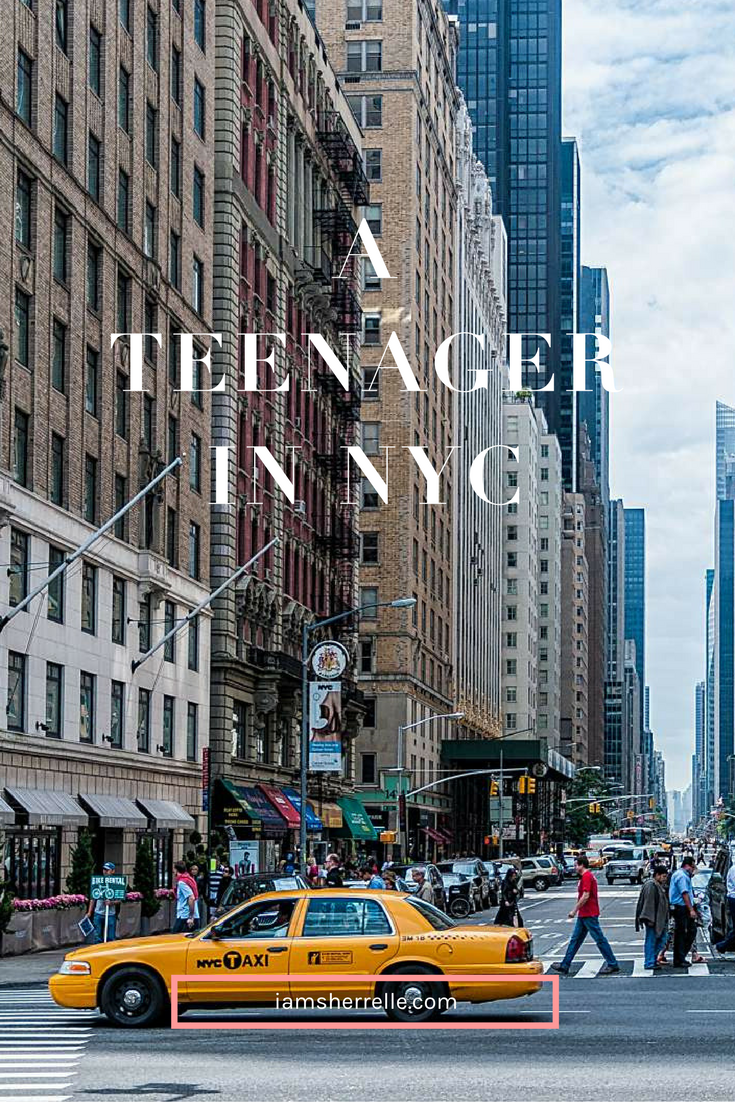 A Teenager in New York City - Sherrelle