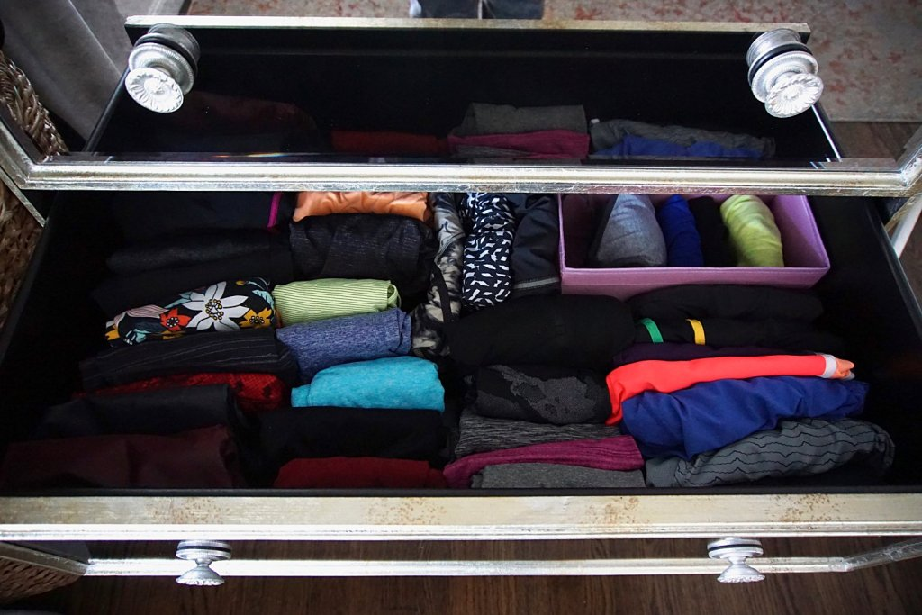 Marie Kondo taught me that a tidy home is less about the how and more so about the why.  Learn how to tidy your clothes with gratitude and joy. #mariekondo #konmari #organizing #home #decor #sparkjoy #folding