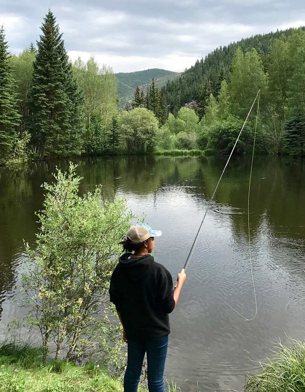 A dude ranch vacation is a great way to connect with nature and each other.  #vacation #colorado #dude #ranch #horses #flyfishing #rafting #tumblingriverranch