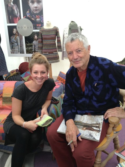IamSnowfox and Kaffe Fassett