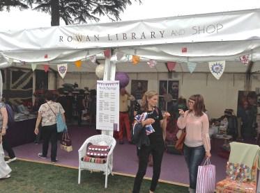 The Rowan Library Tent