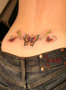 Searching for the elusive male tramp stamp (1/6)