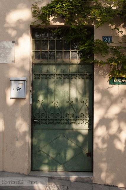 atenas puerta verde