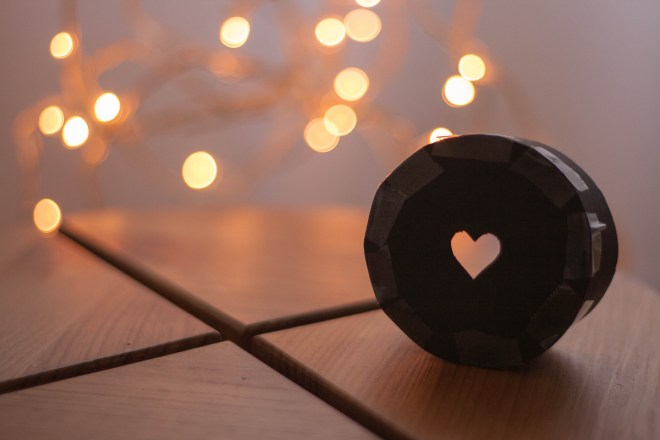 bokeh shapes formas corazón