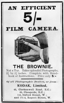 1901 brownie slogan