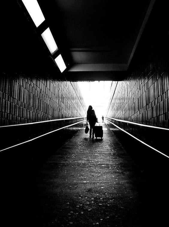 sandra lesvigne tunnel portrait