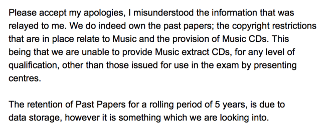 SQA Past Papers