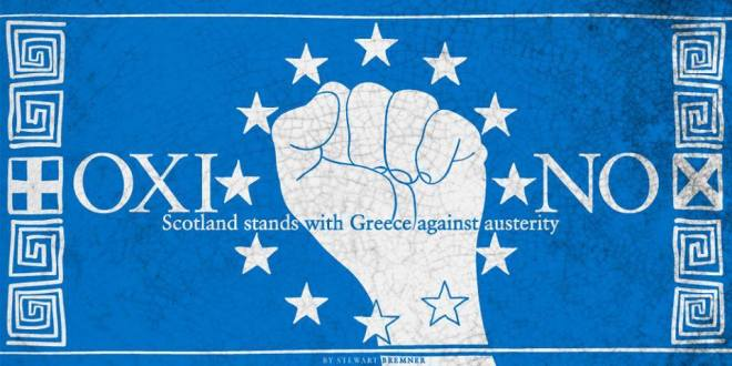 Scotland Stands with Greece