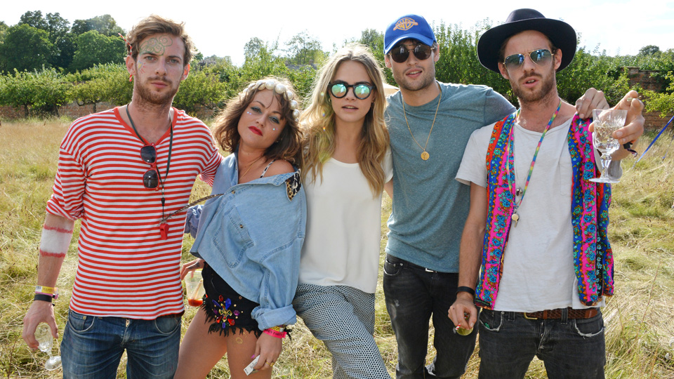 Mulberry Hosts The Mulberry Wilderness Picnic With Cara Delevingne At Wilderness 2014