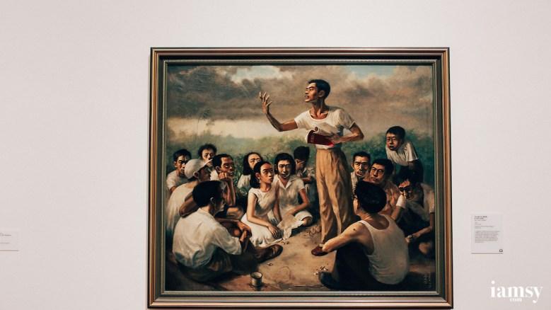 Epic Poem of Malaya by 蔡名智 Chau Mia Tee (1955)