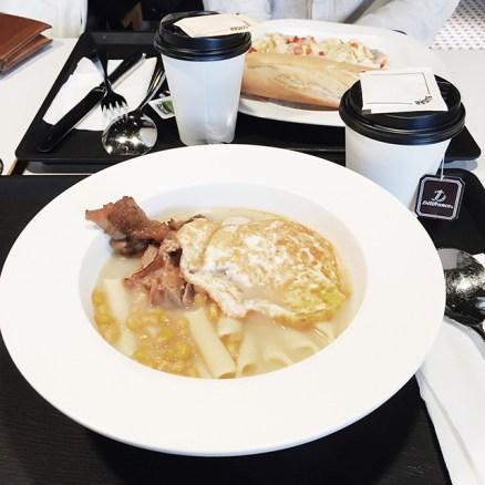 沒想到會是中式方案上碟的西式早餐